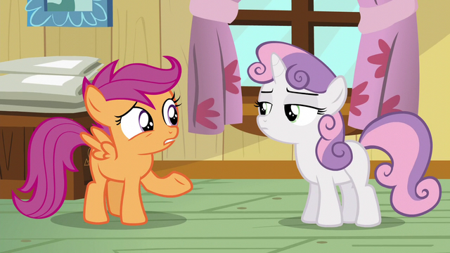 File:Sweetie Belle glances at Scootaloo S5E04.png