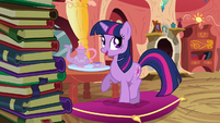 Twilight 'Princess Celestia obviously thinks' S3E09