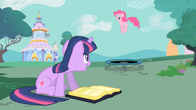 "File:Twilight and Pinkie ""please stop shouting"" S01E26.png"