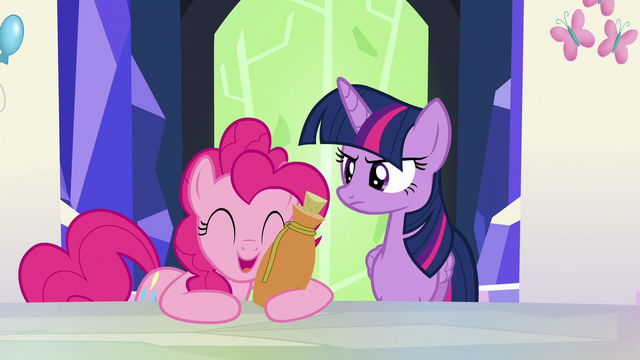 "File:Pinkie Pie ""it's still funny!"" S5E22.png"