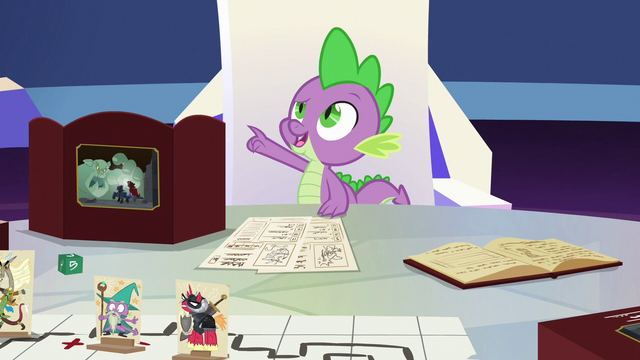 "File:Spike ""forgot the board and the pieces"" S6E17.png"