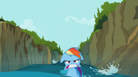 Rainbow Dash weird mouth 2 S02E08