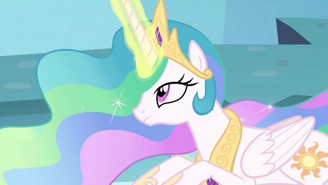 File:Celestia with her magic back S4E26.png