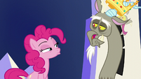 Discord with an upside-down mouth S5E22