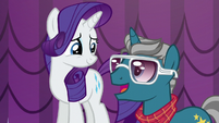 Fashion Plate congratulates Rarity S5E14