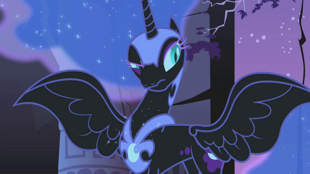 "File:Nightmare Moon ""you still don't have the sixth element"" S01E02.png"