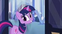 Twilight Sparkle cute smile S03E12