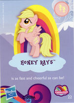 Wave 9 Honey Rays collector card