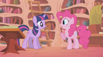 "Pinkie Pie ""improve MY attitude?"" S1E05"