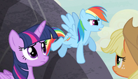 "Rainbow Dash ""some sort of horrific monster"" S5E1"