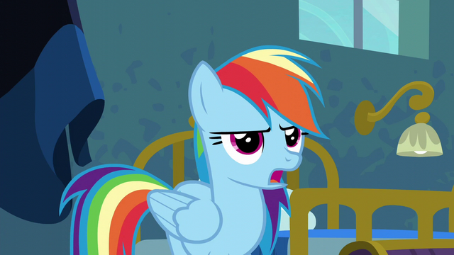 "File:Rainbow Dash ""yes, ma'am"" S6E7.png"