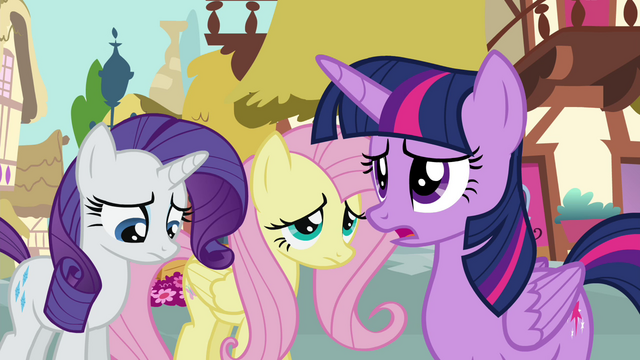 "File:Twilight Sparkle ""I'm not sure it's the best time"" S4E18.png"