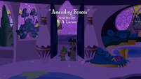 Twilight and Spike enters their old home S5E12