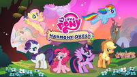 My Little Pony Harmony Quest title screen