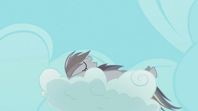 File:Rainbow Dash continues nap on the cloud S2E02.png