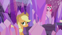 Applejack looking for the obsidian S5E20