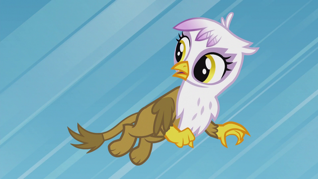 "File:Young Gilda ""you too, Rainbow Dash!"" S5E8.png"