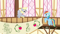 Derpy backs up to the pole S2E14.png