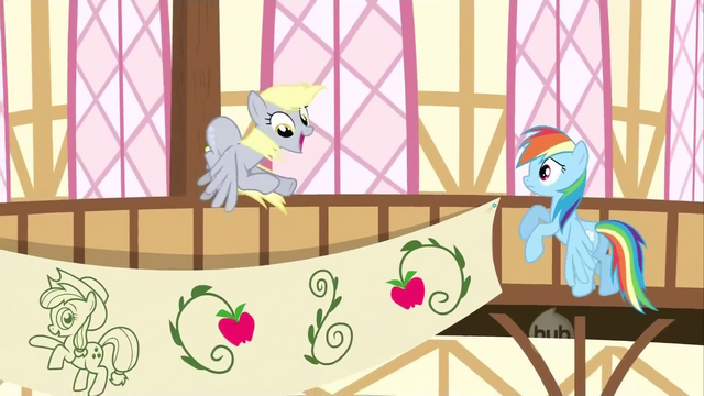 File:Derpy backs up to the pole S2E14.png