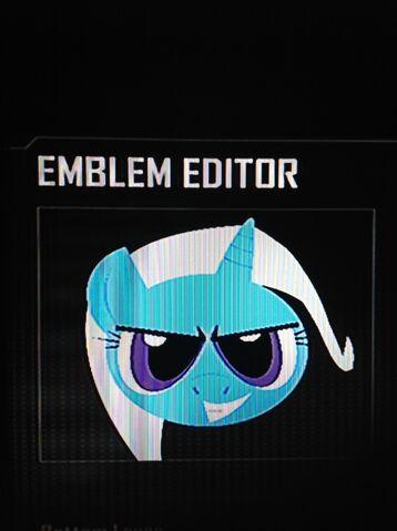 File:FANMADE Trixie Black Ops 2 Emblem.jpg
