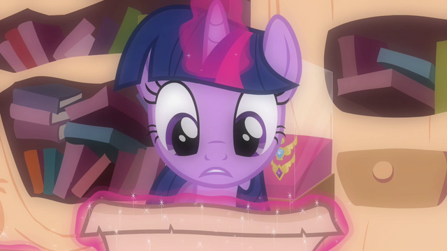 File:Twilight reads Celestia's letter S03E13.png