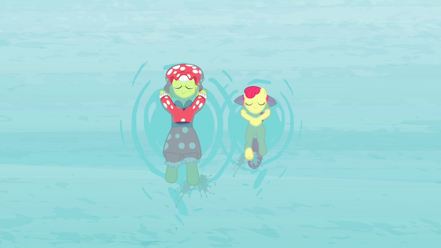 File:Granny and Apple Bloom floating on water while swimming S4E20.png