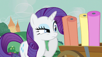 Rarity something's missing S3E8