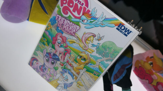 File:My Little Pony comic issue 1 San Diego Comic-Con cover.jpg