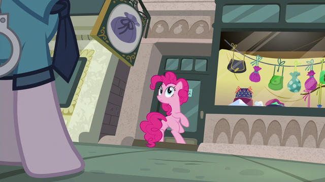 File:Pinkie Pie looking at Police Pony S6E3.png