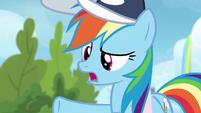 """Rainbow Dash """"did you see Vapor Trail?"""" S6E24"""