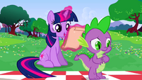 Twilight Spike worried S2E25
