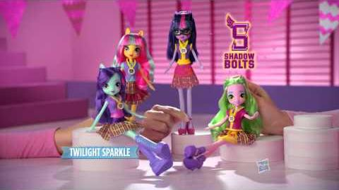 "My Little Pony Equestria Girls Latino América Comercial de TV ""Equestria Girls Friendship Games"""