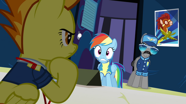 File:Rainbow 'Yes ma'am!' S3E7.png