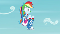 Rainbow Dash hangs in midair EG3