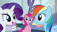 "Rarity ""what do you do now"" S6E7"