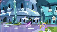 Starlight and Spike runs off S6E2