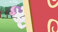 Sweetie Belle giggling S2E23