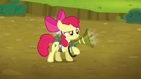 Apple Bloom sucks in a lone twittermite S5E04
