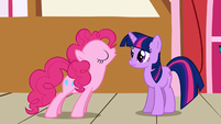 Pinkie Pie and Twilight S1E4