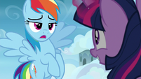 "Rainbow Dash ""maybe for you"" S6E24"