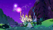 Canterlot castle wide view S1E26