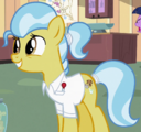 Mane Goodall smiling at Spike S2E10.png