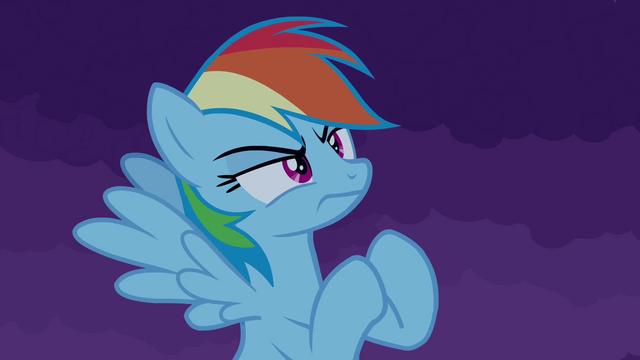 File:Rainbow Dash challenges castle S4E03.png