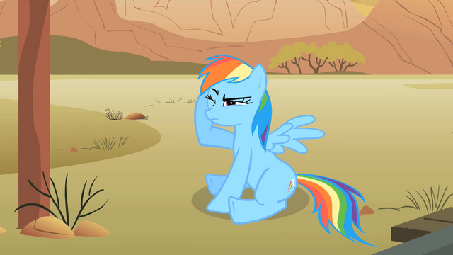 File:Rainbow Dash in pain S01E21.png