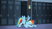 Rainbow Dash is in S5E5