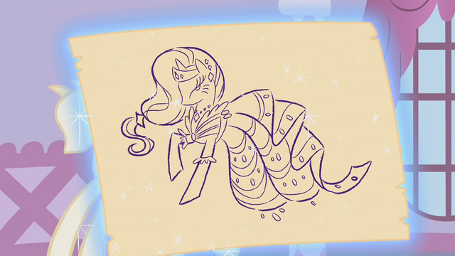 File:Rarity's dress design S01E14.png