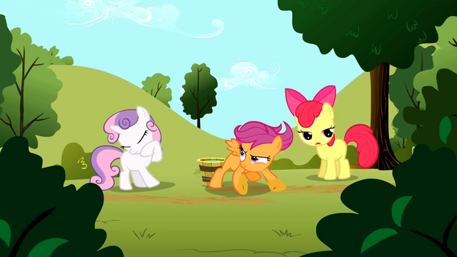 File:Scootaloo finishing talking about Rainbow Dash S01E23.png