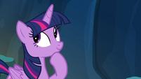 Twilight Sparkle thinking S4E25