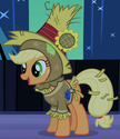 Applejack Nightmare Night costume ID S2E4