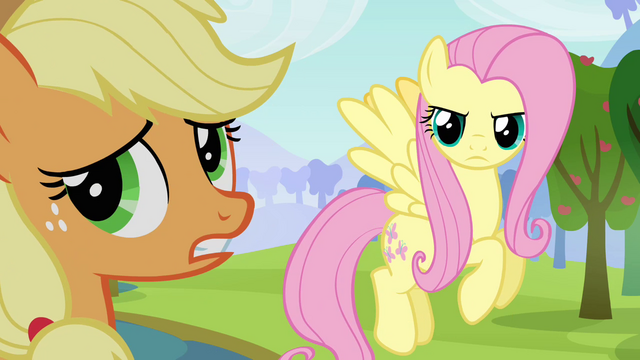 File:Applejack gives up trying to argue S03E10.png